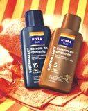 Ujędrniające balsamy do opalania NIVEA Sun SPF 5 i SPF 15 /INTERIA.PL