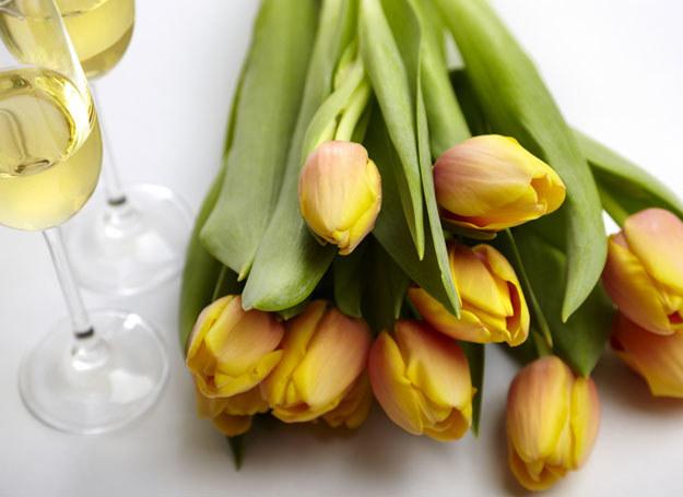Układanie wiosennych kwiatów to sama przyjemność! /© Photogenica/Glow Images