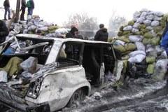 Ukraina: Barykady na Euromajdanie i zdobyty Dom