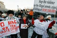 Ukraina: Barykady z opon na ulicach Kijowa