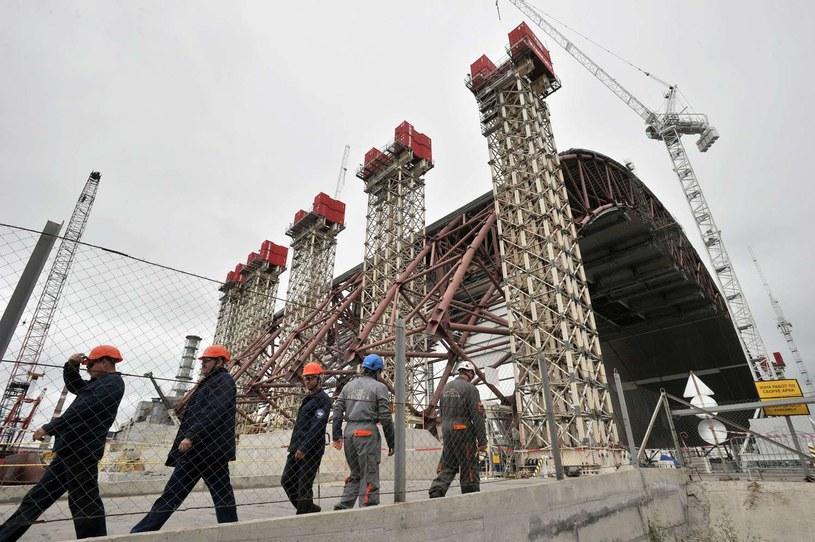 Ukraina obawia się o bezpieczeństwo swoich elektrowni jądrowych. /AFP