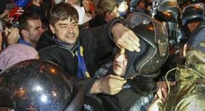 Ukraina: Po nocnych starciach z milicją sytuacja w Kijowie spokojna