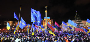 Ukraina: Prokuratura szuka protestujących studentów