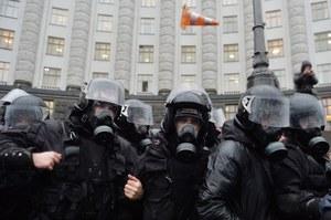 Ukraina: Starcia z milicją w centrum Kijowa