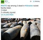 Ukraina: W wyniku eksplozji zginął przedstawiciel NATO