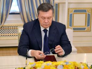 Ukraina: Wniosek o ekstradycję Janukowycza