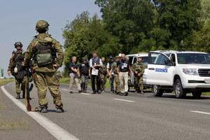 Ukraina: Znów walki na terenie katastrofy boeinga