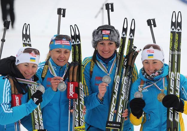 Ukrainki muszą oddać srebrne medale mistrzostw świata /AFP