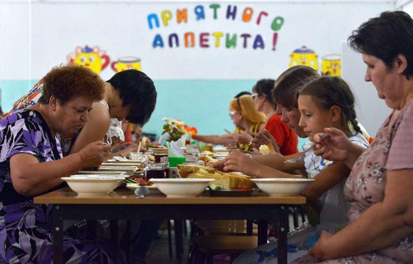 Ukraińscy uchodźcy, fot. ilustracyjna /AFP