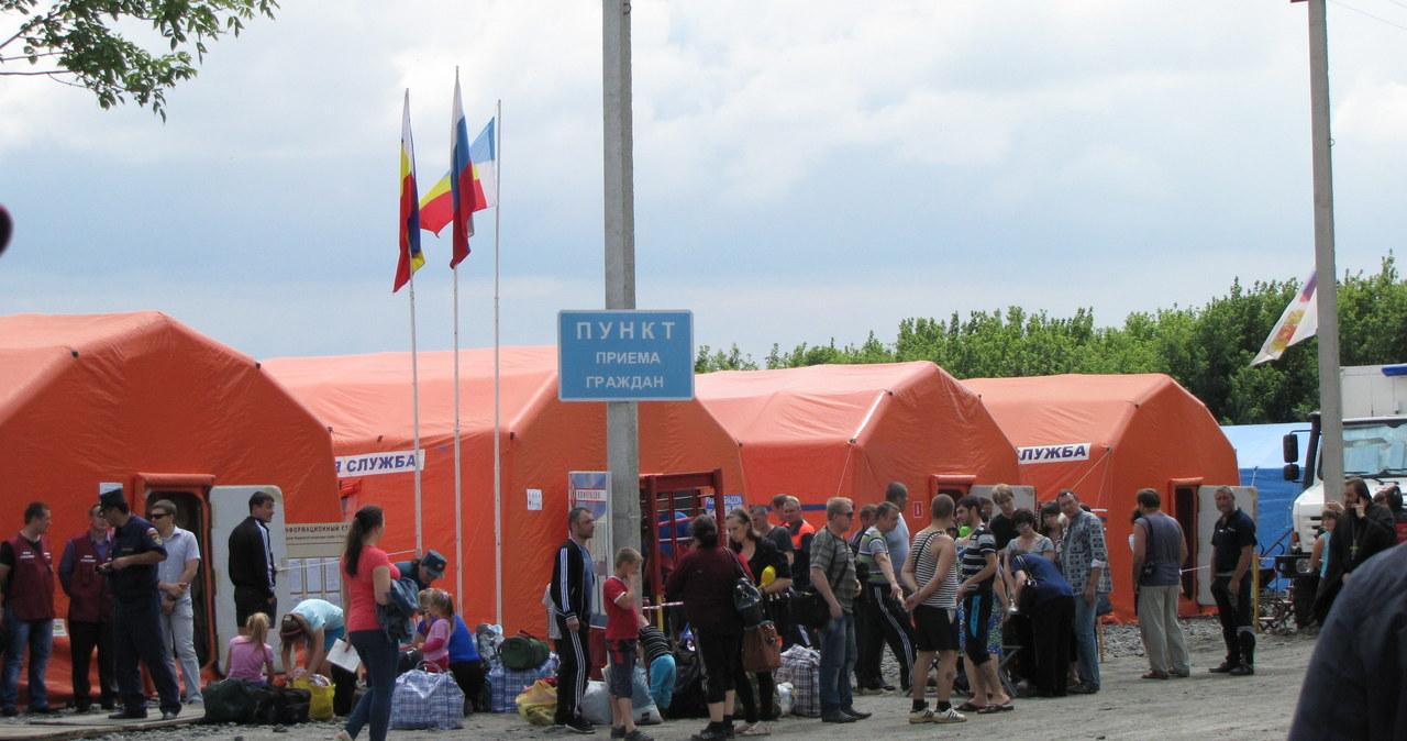 Ukraińscy uchodźcy szukają schronienia w Rosji