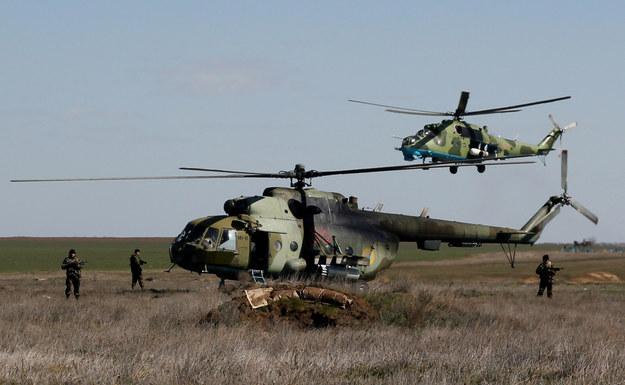 Ukraińscy żołnierze w regionie Salkowa w obwodzie chersońskim /AFP