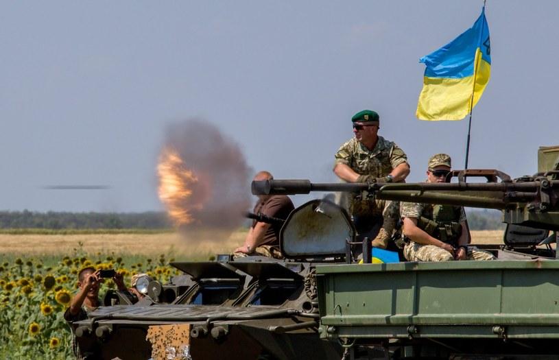 Ukraińscy żołnierze; zdj. ilustracyjne /IRINA GORBASYOVA /PAP/EPA