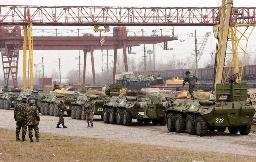 Ukraińscy żołnierze /AFP