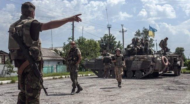 Ukraińscy żołnierze /SERGEY POLEZHAKA /PAP/EPA
