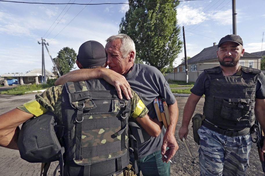 Ukraińscy żołnierze /ANASTASIA VLASOVA /PAP/EPA