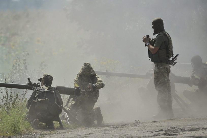 Ukraińscy żołnierze /PAP/EPA