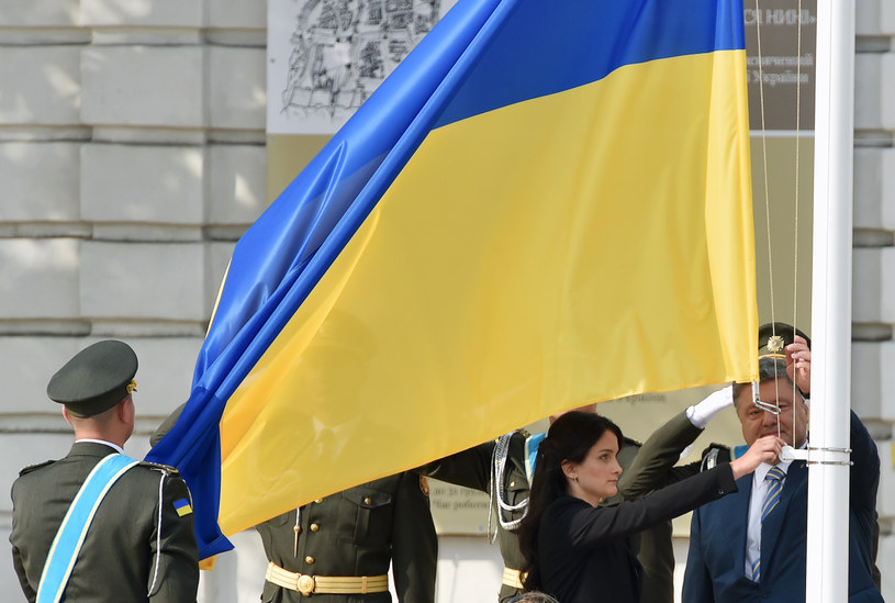 Ukraińska flaga, zdj. ilustracyjne /AFP