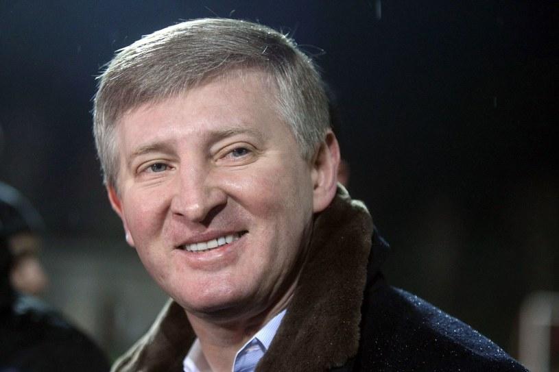 Ukraiński biznesmen Rinat Achmetow. /AFP