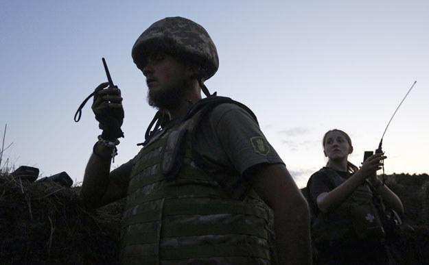 Ukraiński żołnierz w Donbasie fot. Anatolii Stepanov /AFP