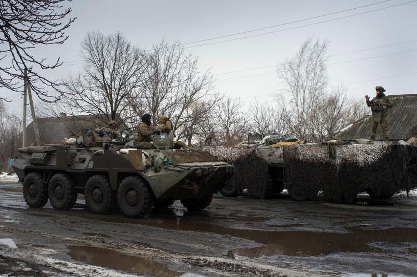 Ukraińskie czołgi w obwodzie donieckim /AFP