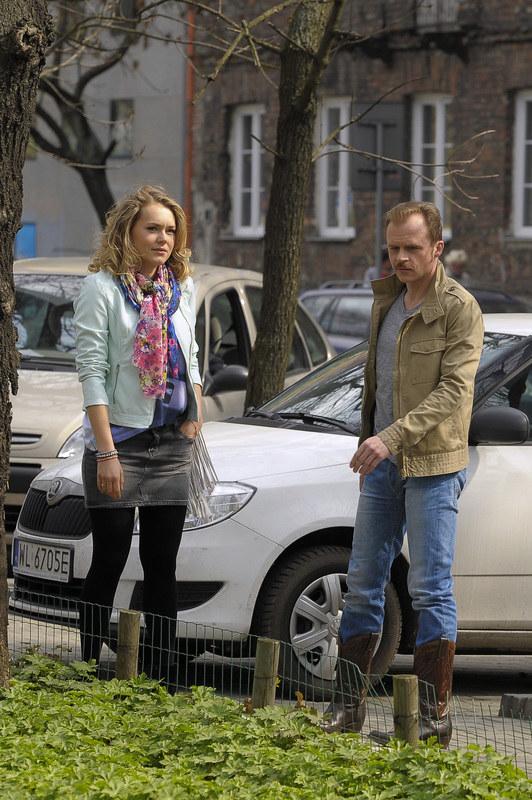 Ula (Magdalena Lamparska) i Klaudiusz (Piotr Rogucki) /Dariusz Gałązka /AKPA