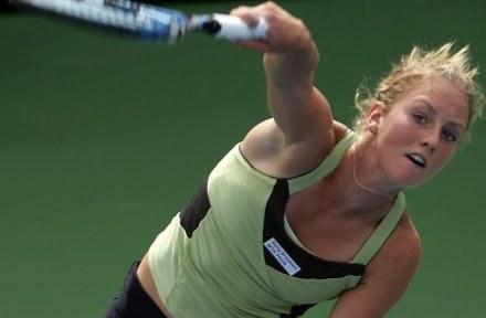 Ula Radwańska odniosła największy sukces w karierze /AFP