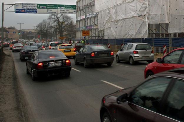 Ulica Grunwaldzka w Gdańsku. Fot. Michał Szlaga /Reporter
