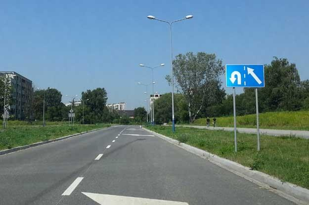 Ulica Lema w Krakowie /INTERIA.PL