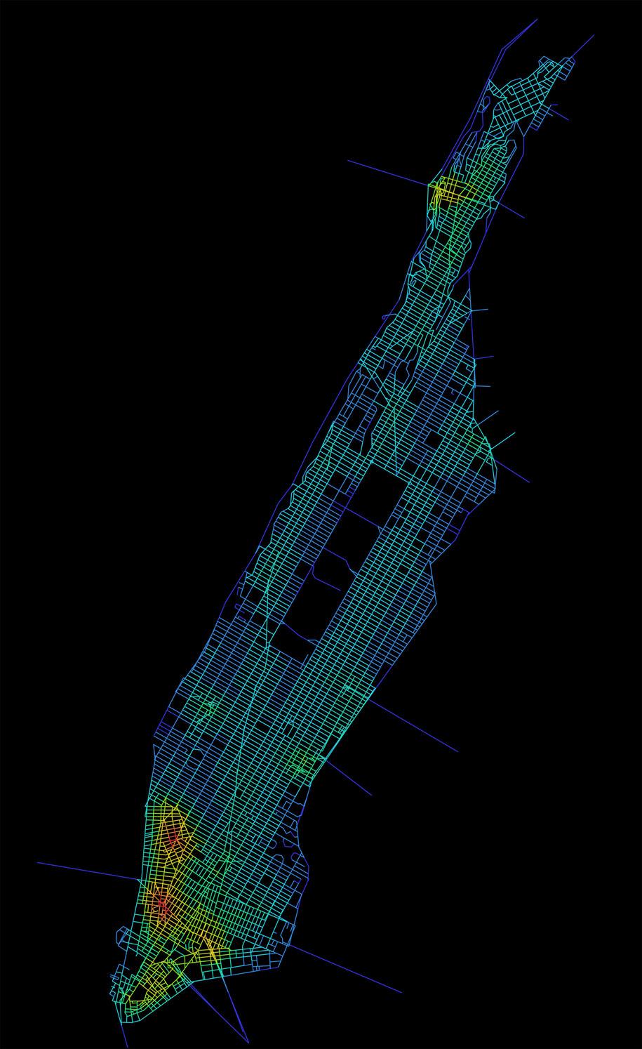 Ulice nowojorskiego Manhattanu są orientacyjnie znacznie prostsze /Kinda Al Sayed /materiały prasowe