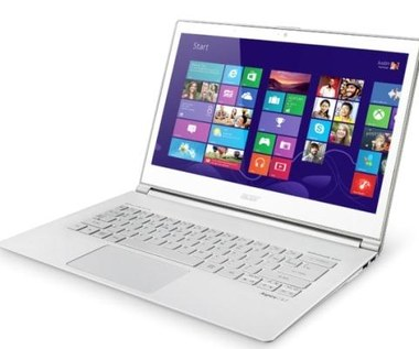 Ultrabooki z serii Acer Aspire S7 na Windows 8