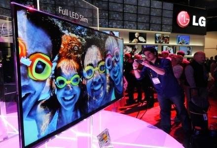 ultrapłaski telewizor LED LCD o grubości zaledwie 6,9 mm /AFP