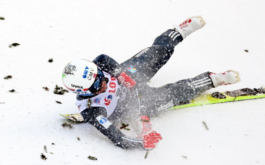 Upadek Norwega Andersa Bardala /Grzegorz Momot /PAP