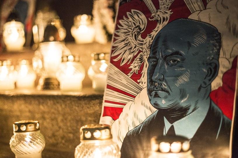 Upamiętnili prezydenta Narutowicza /Maciej Luczniewski /Reporter