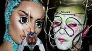Upiorne makijaże, które pokochała Björk