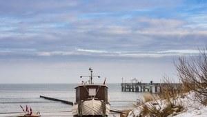 Urlop nad morzem w zimie