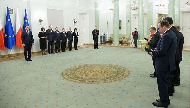 Uroczystość odbyła się w Pałacu Prezydenckim /Kancelaria Prezydenta, fot. Andrzej Hrechorowicz /PAP