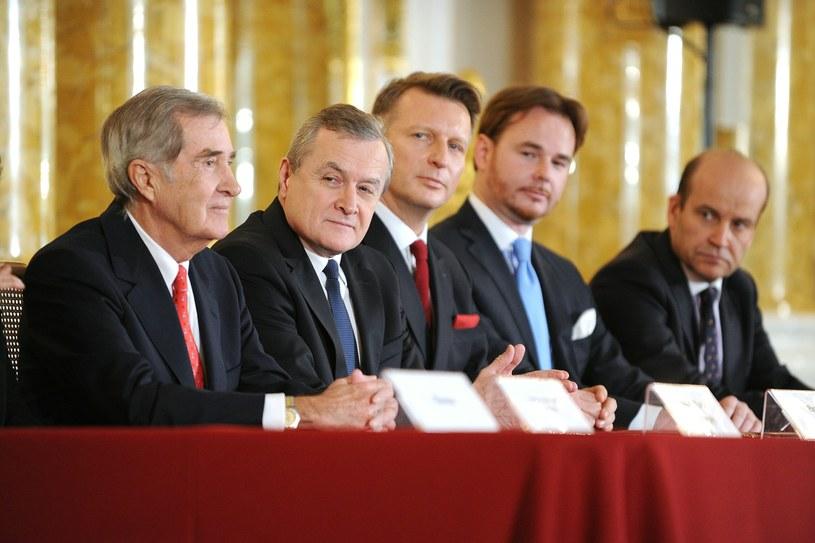 Uroczystość podpisania umowy dotyczącej uregulowania statusu kolekcji Książąt Czartoryskich /Bartosz Krupa /East News
