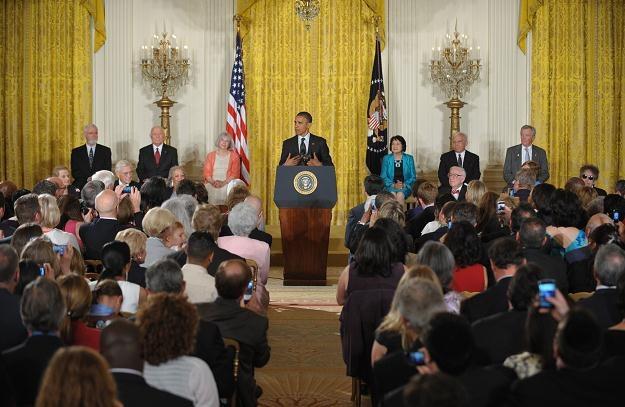 Uroczystość w Białym Domu /AFP