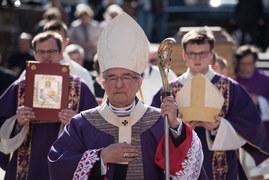 Uroczystości pożegnalne abp. Gocłowskiego