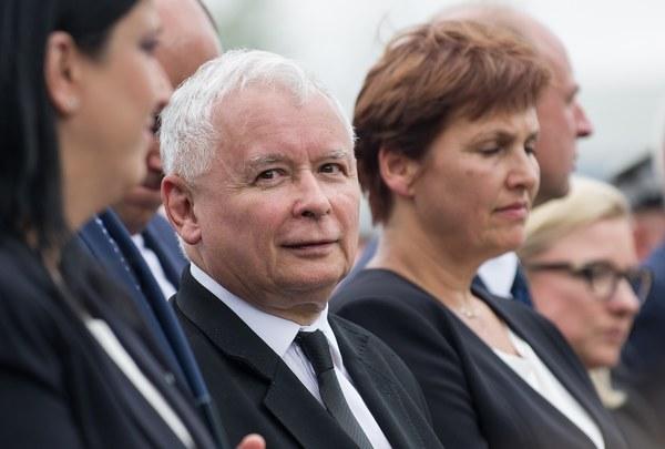 W uroczystości wzięli też udział ministrowie w Kancelarii Prezydenta Halina Szymańska i Wojciech Kolarski
