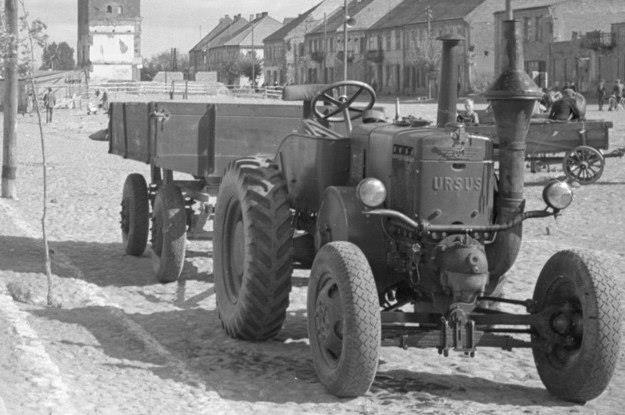 Ursus C-451 na zdjęciu z lat 50-tych / Fot: Roman Wionczek /East News