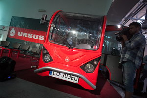 Ursus pokazał prototyp nowego pojazdu dostawczego