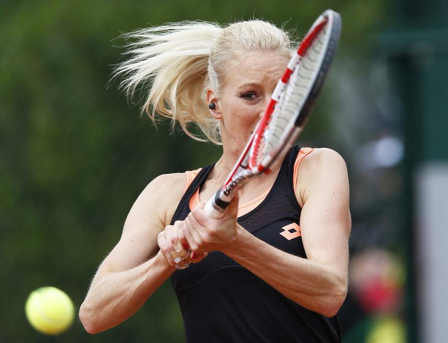 Urszula Radwańska kreczowała w pierwszej rundzie /YOAN VALAT  /PAP/EPA