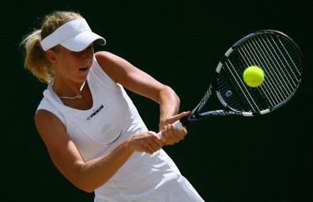 Urszula Radwańska pokonała pierwszą rywalkę podczas turnieju w Los Angeles. /AFP