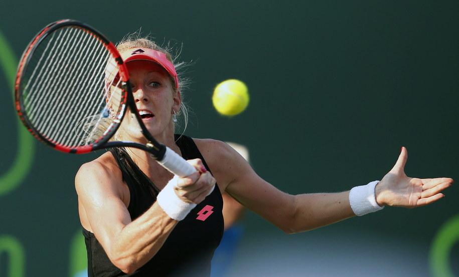 Urszula Radwańska przegrała z Amerykanką Venus Williams /RHONA WISE /PAP/EPA