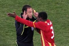 Urugwaj pokonał Ghanę, w półfinale zagra z Holandią