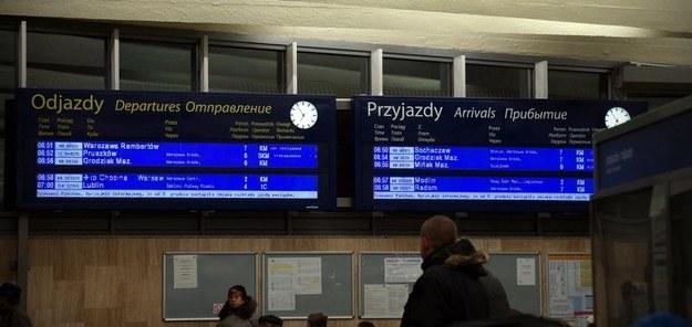 Urząd Transportu Kolejowego wymierzył PKP milion złotych kary /RMF FM