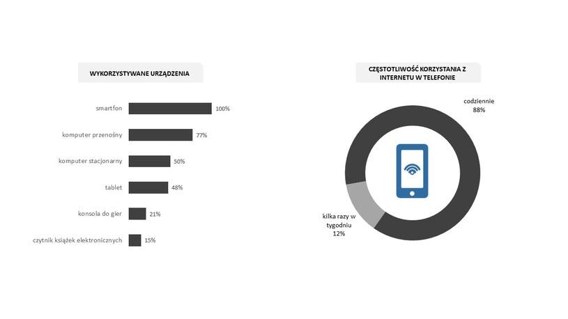 Urządzenia elektroniczne wykorzystywane przez Polaków /materiały prasowe