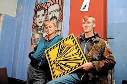 Urzędnicy chcą pomóc anarchistom, ale nic nie wskazuję na owocny dialog / fot. M. Zakrzewski /EchoMiasta_Poznań
