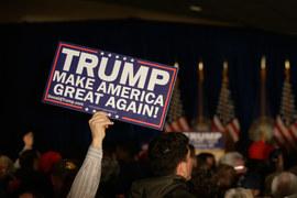 USA: Donald Trump w drodze po nominację